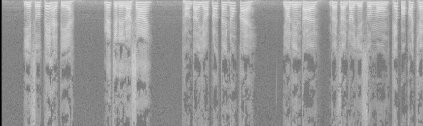 Spectrogram without modifications